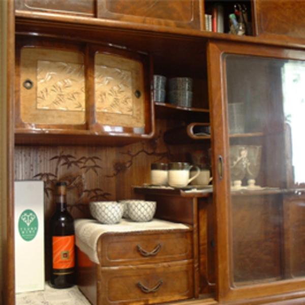 食器棚修理